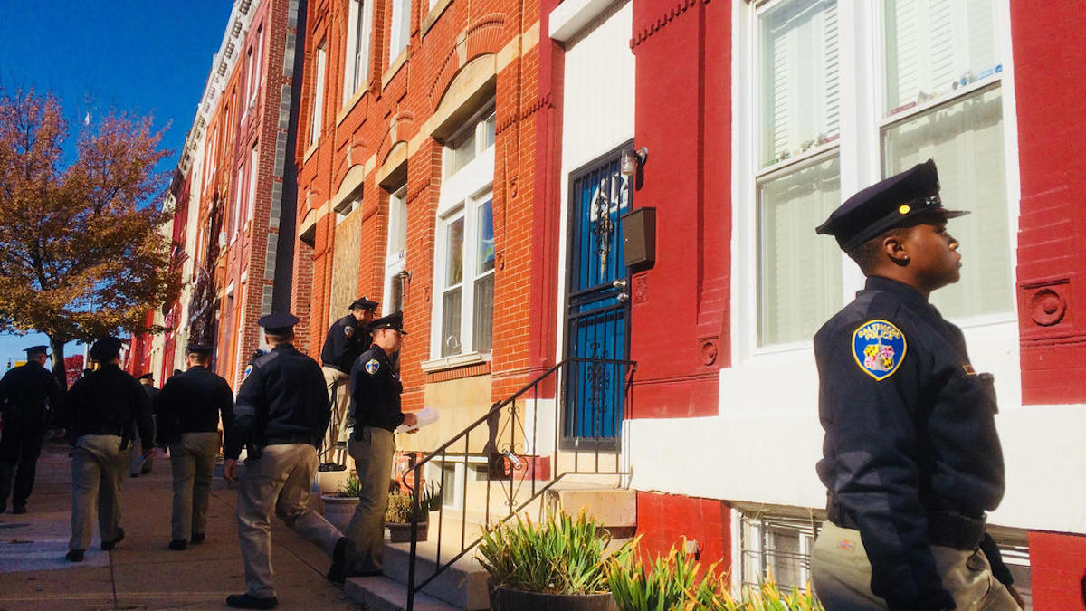 Baltimore, Baltimore Crime, Detective Suiter, African American Community, KOLUMN Magazine, KOLUMN, KINDR'D Magazine, KINDR'D