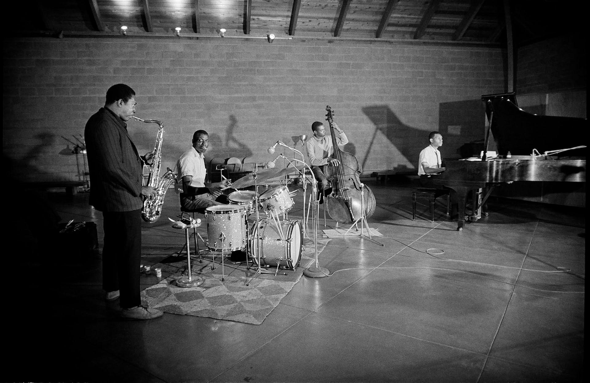 John Coltrane, A Love Supreme, Jimmy Garrison, Elvin Jones, McCoy Tyner, KOLUMN Magazine, KOLUMN, KINDR'D Magazine, KINDR'D