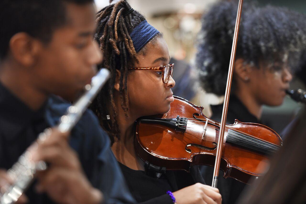 OrchKids, African American Art, Black Art, Baltimore Symphony Orchestra, KOLUMN Magazine, KOLUMN, KINDR'D Magazine, KINDR'D
