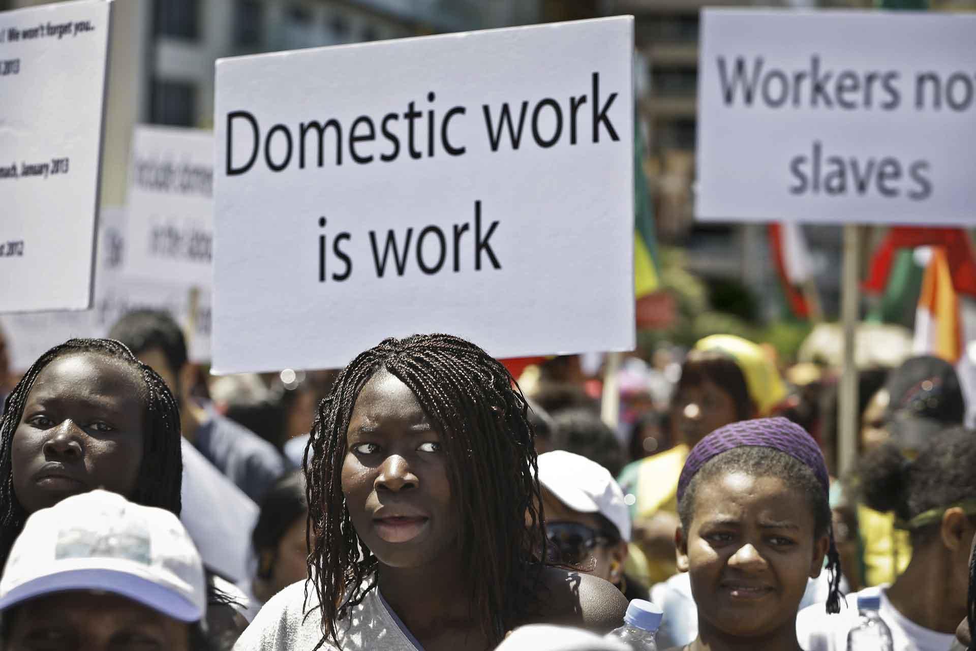 Arab Racism, Black Female Abuse, Domestic Abuse, Domestic Worker Abuse, KOLUMN Magazine, KOLUMN, KINDR'D Magazine, KINDR'D