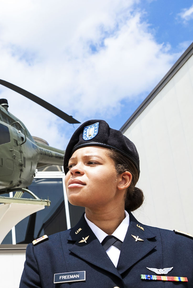 Kayla Freeman, Lt. Kayla Freeman, African American Veterans, Black Veterans, African American History, Black History, KOLUMN Magazine, KOLUMN, KINDR'D Magazine, KINDR'D, Five Fifths, The Five Fifths, Willoughby Avenue