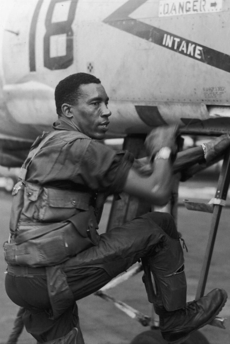 African American Veterans, Black Veterans, African American Military, Frank E Petersen, KOLUMN Magazine, KOLUMN, KINDR'D Magazine, KINDR'D