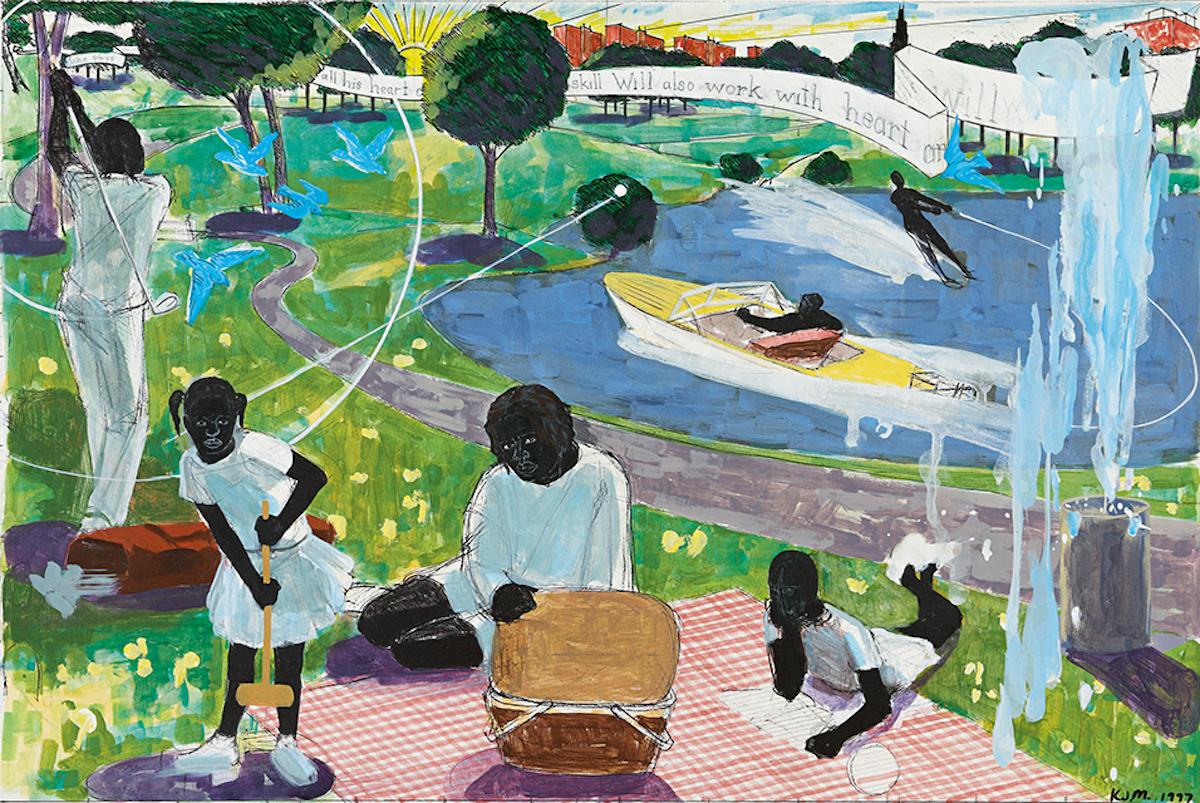 African American Art, Black Art, Kerry James Marshall, KINDR'D Magazine, KINDR'D, KOLUMN Magazine, KOLUMN