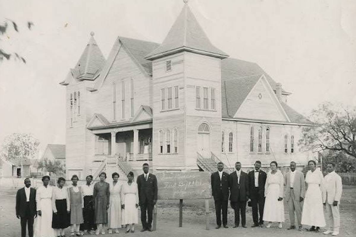 Historic First Baptist Church in San Marcos, African American History, Black History, Old First Baptist Church, KOLUMN Magazine, KOLUMN, KINDR'D Magazine, KINDR'D