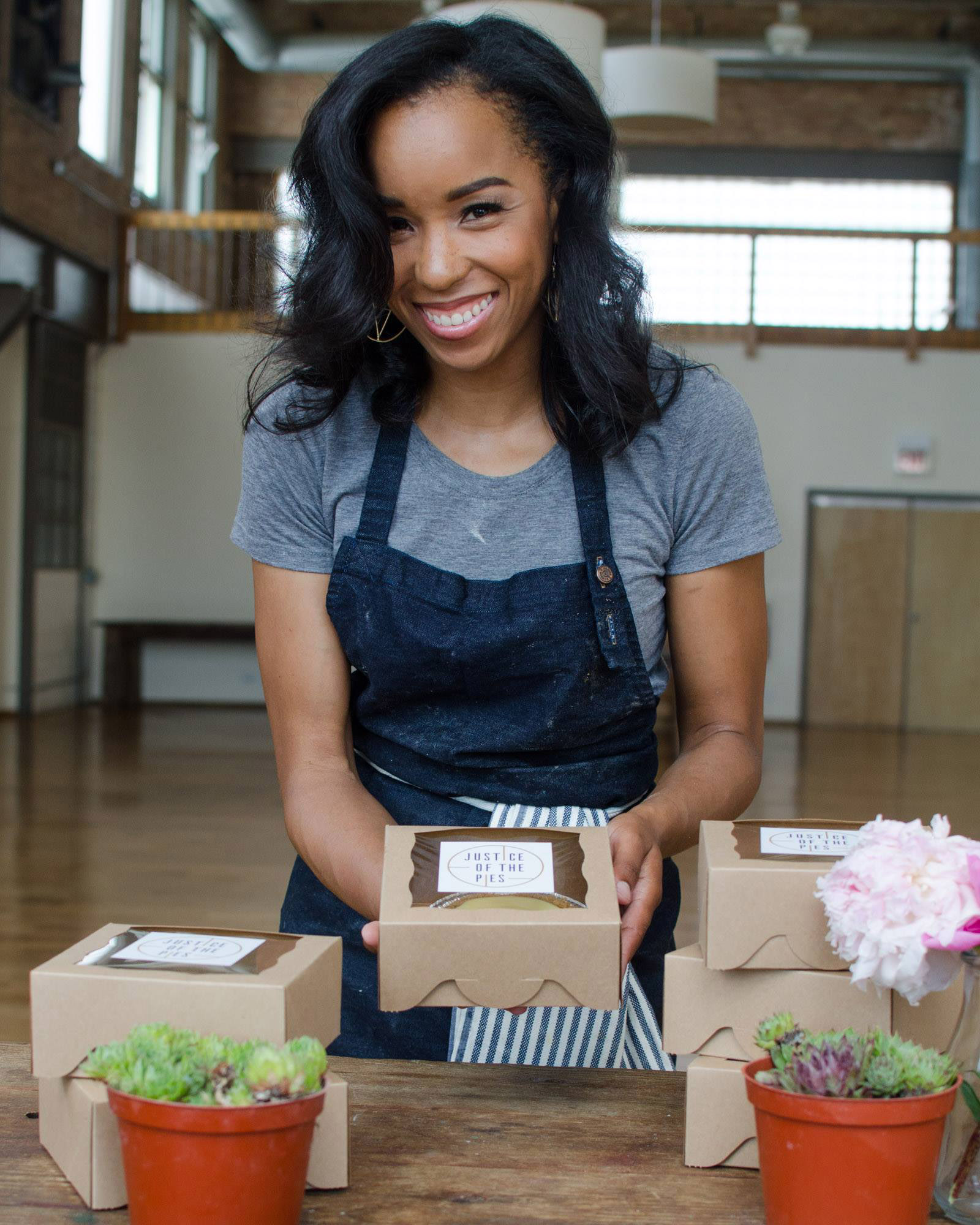 Krystal Mack, BLK//SUGAR, African American Entrepreneur, African American Business, Black Business, Black Entrepreneur, Black Bakery, Justice Of The Pies, Maya-Camille Broussard