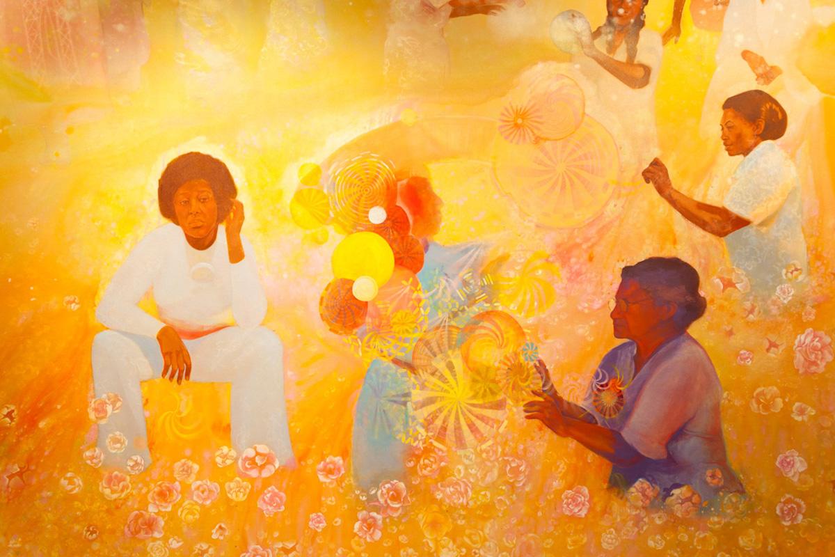 Firelei Báez, African American Art, Black Art, Louis Armstrong, KINDR'D Magazine, KINDR'D, KOLUMN Magazine, KOLUMN, Willoughby Avenue