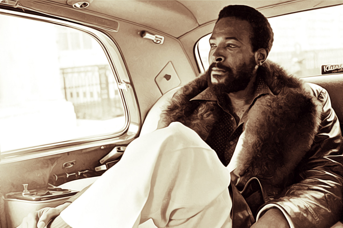 Marvin Gaye: Marvin Gaye, Gregory Hines Honored With U.S. Postal Stamps