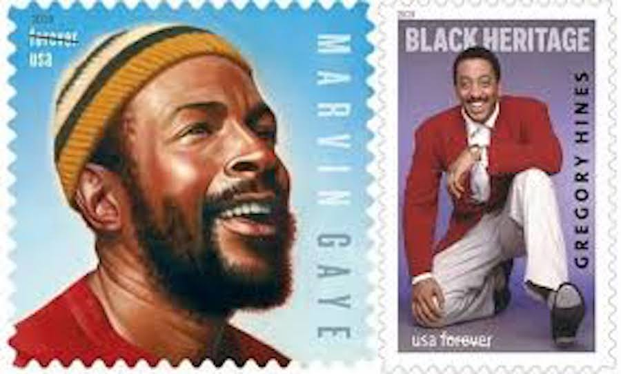 Marvin Gaye, Gregory Hines, African American History, Black History, African American Stamp, KOLUMN Magazine, KOLUMN, KINDR'D Magazine, KINDR'D, Willoughby Avenue