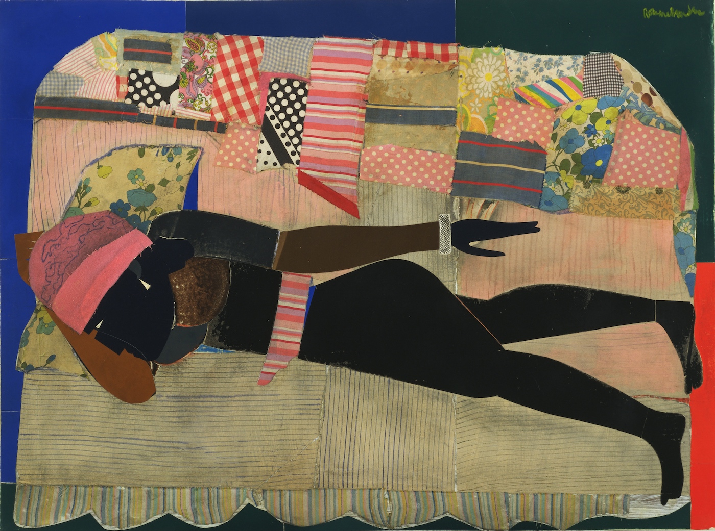 Mickalene Thomas, Romare Bearden, Posing Modernity, The Black Model from Manet and Matisse to Today, Mickalene Thomas, African American Art, Black Art, Racism, KOLUMN Magazine, KOLUMN, Willoughby Avenue