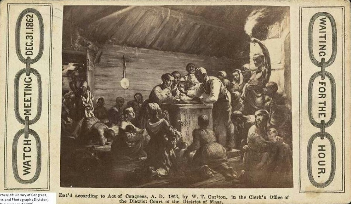 African American History, Black History, Watch Night, Emancipation, New Years Traditions, African American New Years Traditions, KOLUMN Magazine, KOLUMN, KINDR'D Magazine, KINDR'D, Willoughby Avenue