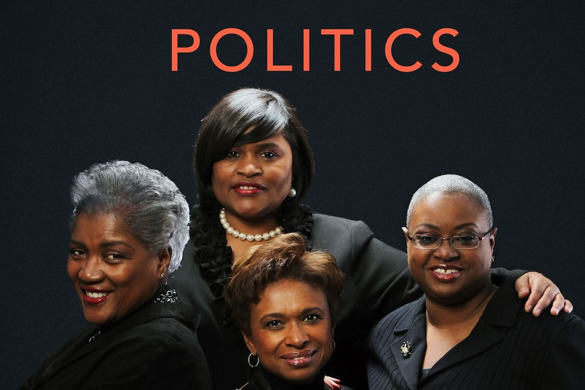 Donna Brazile, Yolanda Caraway, Leah Daughtry, Minyon Moore, African American Vote, Black Vote, African American Politics, Black Politics, The FIVE FIFTHS, TheFIVEFIFTHS, KOLUMN Magazine, KOLUMN, Willoughby Avenue, WRIIT,