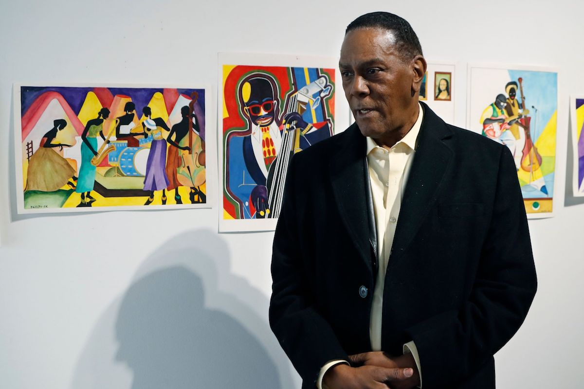 Richard Phillips, Richard Phillips Art, Wrongly Accused, Wrongful Imprisonment, Mass Incarceration, African American Art, Black Art, KOLUMN Magazine, KOLUMN, KINDR'D Magazine, KINDR'D, Willoughby Avenue, WRIIT
