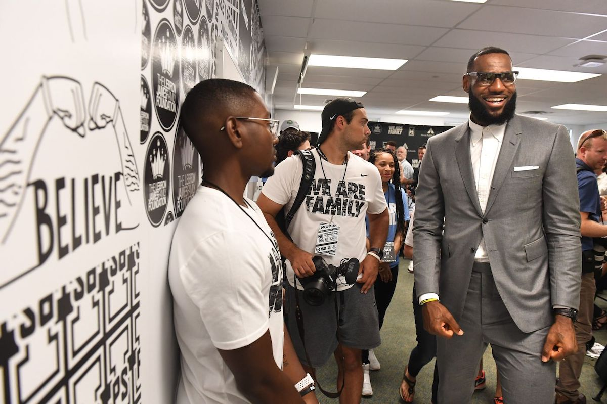 Lebron James, African American Education, Black Education, African American Schools, Black Schools, Willoughby Avenue, KOLUMN Magazine, KOLUMN, KINDR'D Magazine, KINDR'D, WRIIT, Wriit,