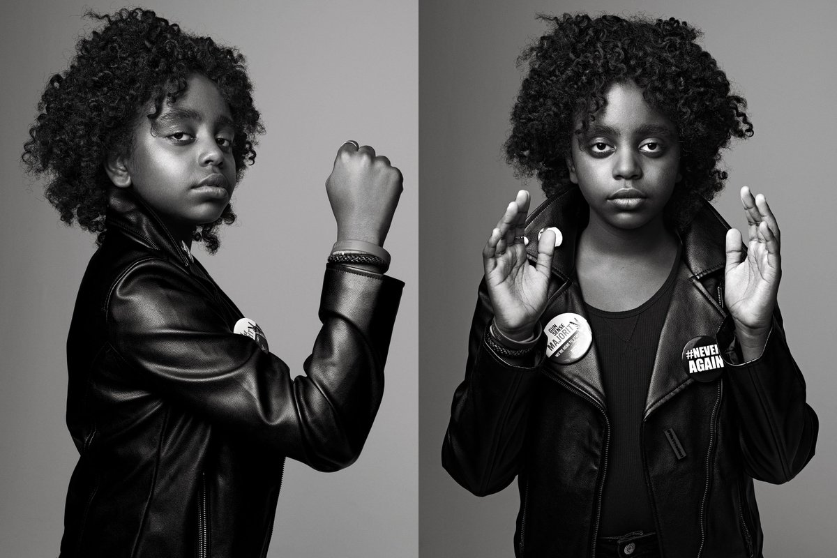 Naomi Wadler, March for Our Lives, Parkland Shooting, African American Activist, Gun Violence, Gun Control, KOLUMN Magazine, KOLUMN, KINDR'D Magazine, KINDR'D, Willoughby Avenue, WRIIT, Wriit,
