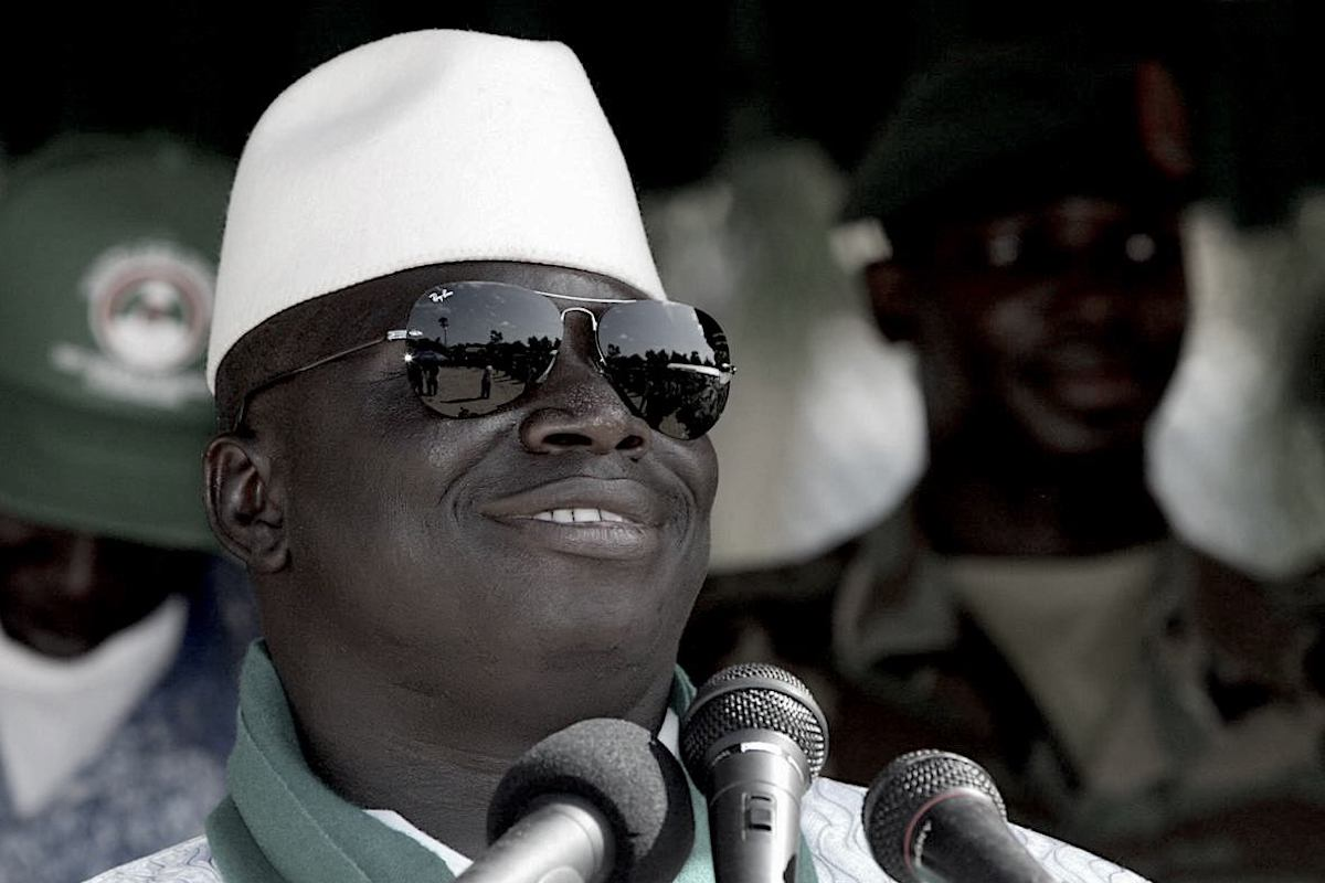 Yahya Jammeh, Gambia President, Gambia Politics, Gambia Government, Political Corruption, Gambia, KOLUMN Magazine, KOLUMN, KINDR'D Magazine, KINDR'D, Willoughby Avenue, WRIIT, Wriit,