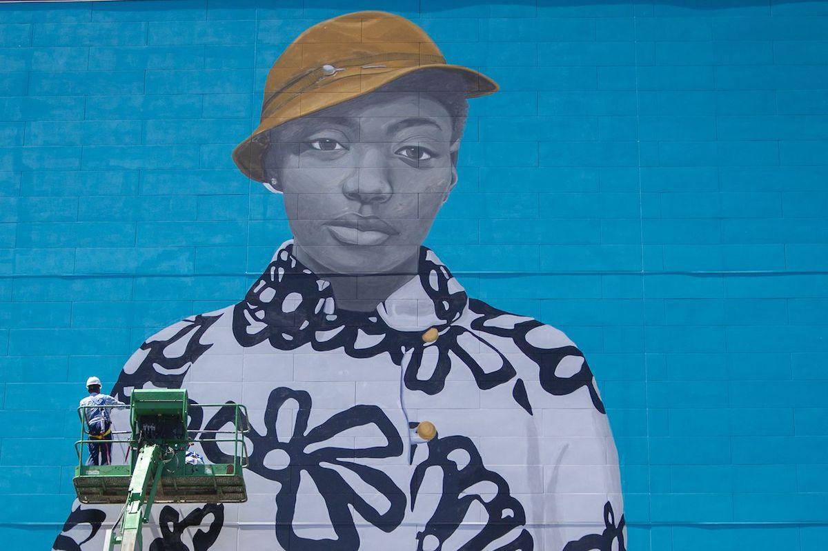 Amy Sherald, Michelle Obama, Michelle Obama Portrait, African American Art, African American Artist, Black Art, Black Artist, KOLUMN Magazine, KOLUMN, KINDR'D Magazine, KINDR'D, Willoughby Avenue, WRIIT, Wriit,