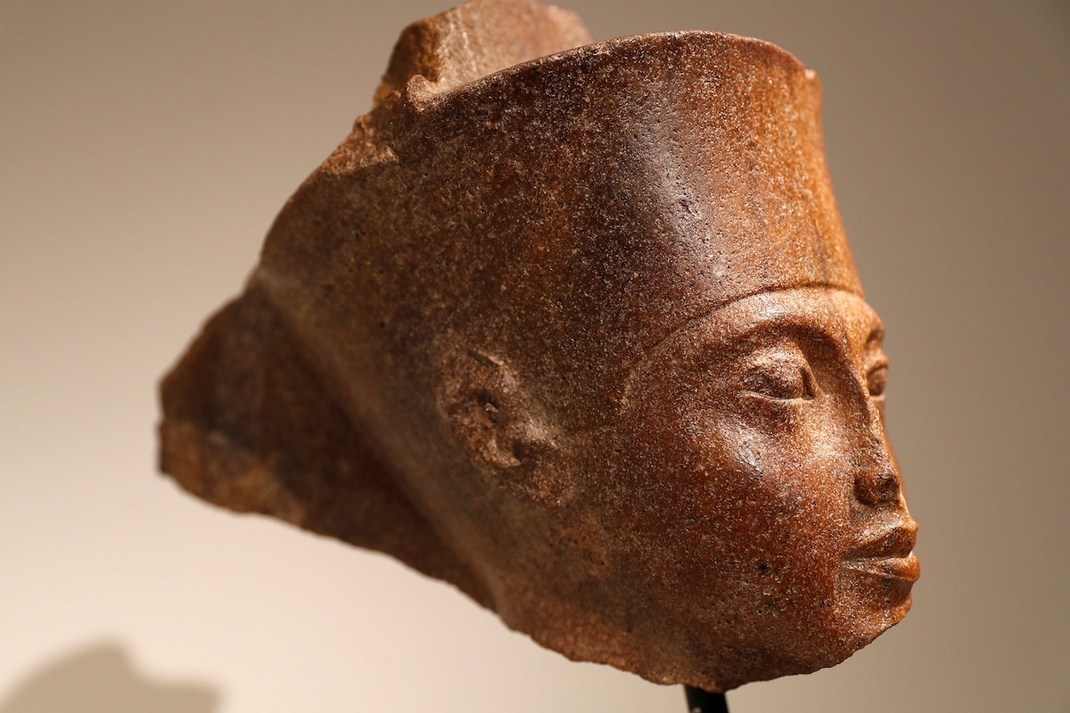 African Art, African History, Egyptian Art, Tutankhamen, Tutankhamen Head, KOLUMN Magazine, KOLUMN, Willoughby Avenue, WRIIT, Wriit,