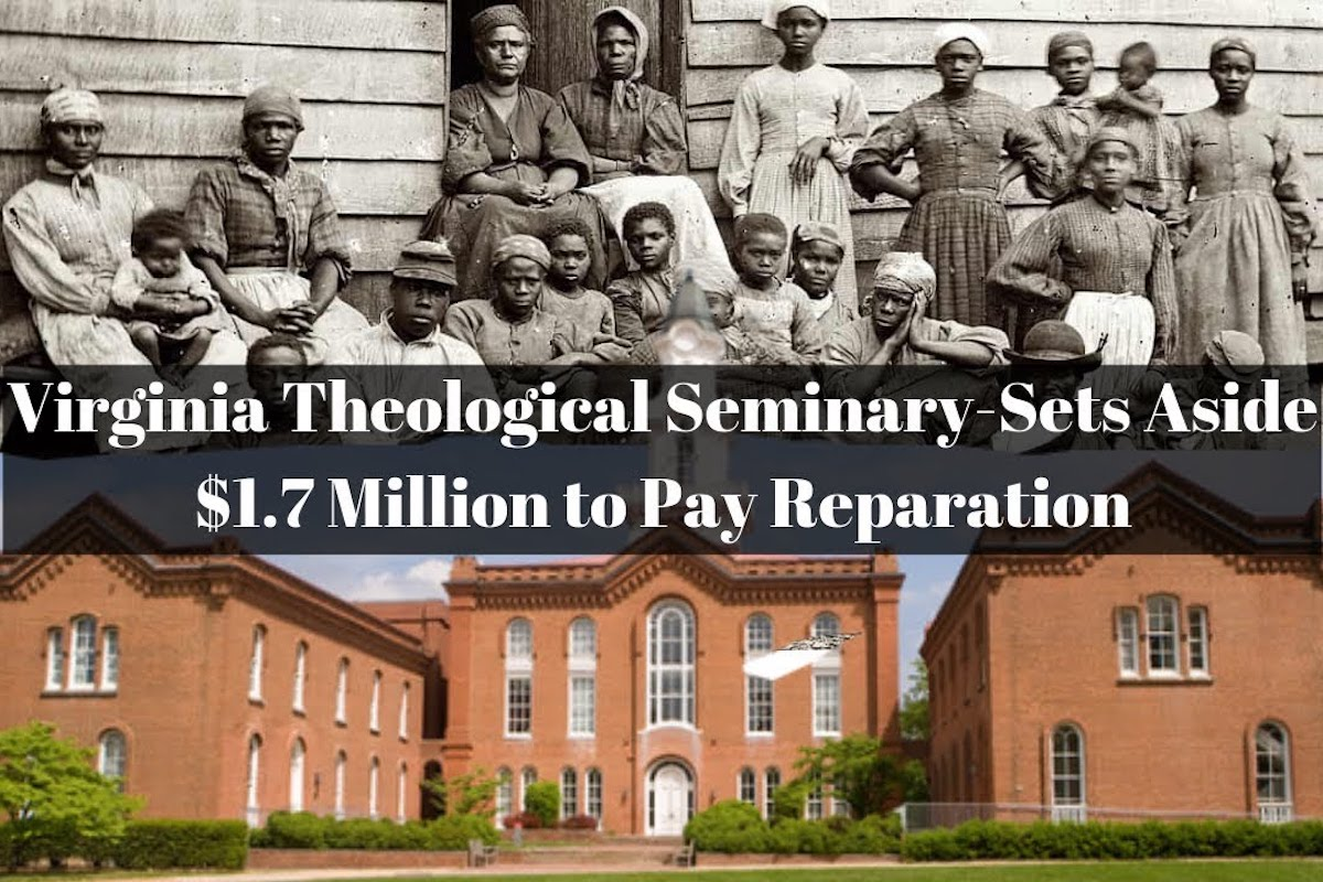 Reparations, African American History, Black History, Virginia Theological Seminary, KOLUMN Magazine, KOLUMN, Willoughby Avenue, WRIIT, Wriit,
