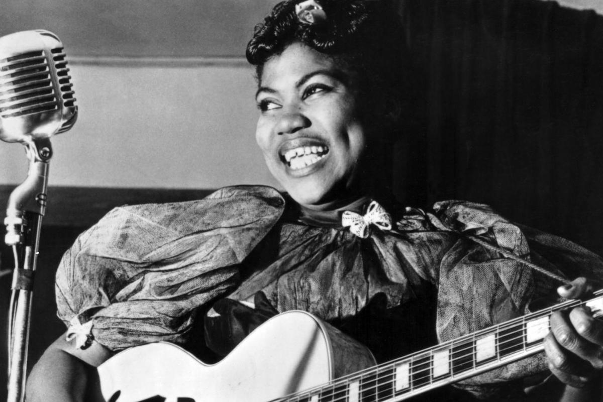 Sister Rosetta Tharpe, KOLUMN Magazine, KOLUMN, KINDR'D Magazine, KINDR'D, Willoughby Avenue, WRIIT,