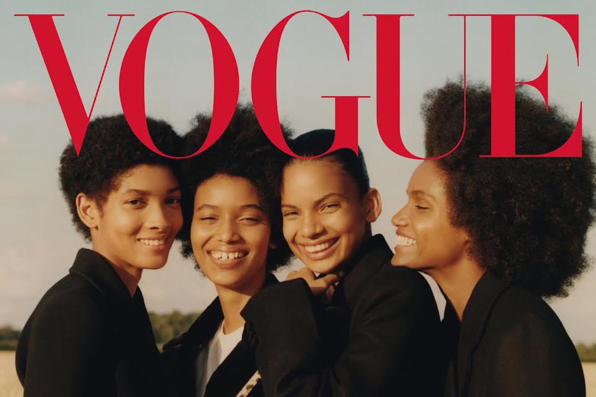 Afro Latino, Vogue, #LicettMorillo, #ManuelaSánchez, #AnnibelisBaez and #AmbarCristal, Dominican Models, Vogue, KOLUMN Magazine, KOLUMN, KINDR'D Magazine, KINDR'D, Willoughby Avenue, WRIIT, Wriit,