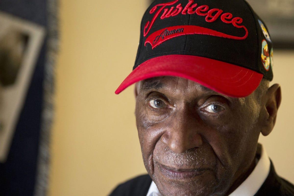 Tuskegee Airman, Leslie Edwards, African American Veteran, Black Veteran, African American History, Black History, KOLUMN Magazine, KOLUMN, KINDR'D Magazine, KINDR'D, Willoughby Avenue, WRIIT,