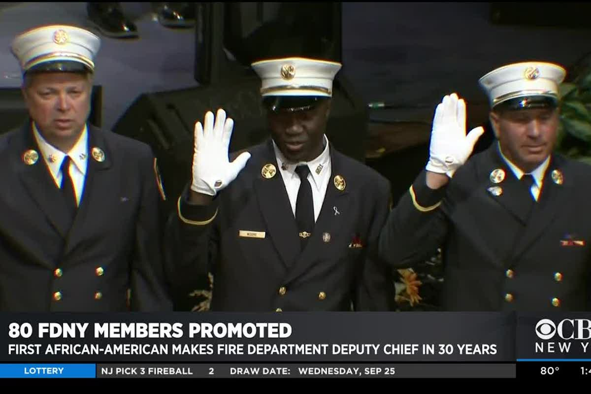 First African American In 30 Years Promoted To Deputy Chief, African American Deputy Fire Chief, KOLUMN Magazine, KOLUMN, KINDR'D Magazine, KINDR'D, Willoughby Avenue, WRIIT,