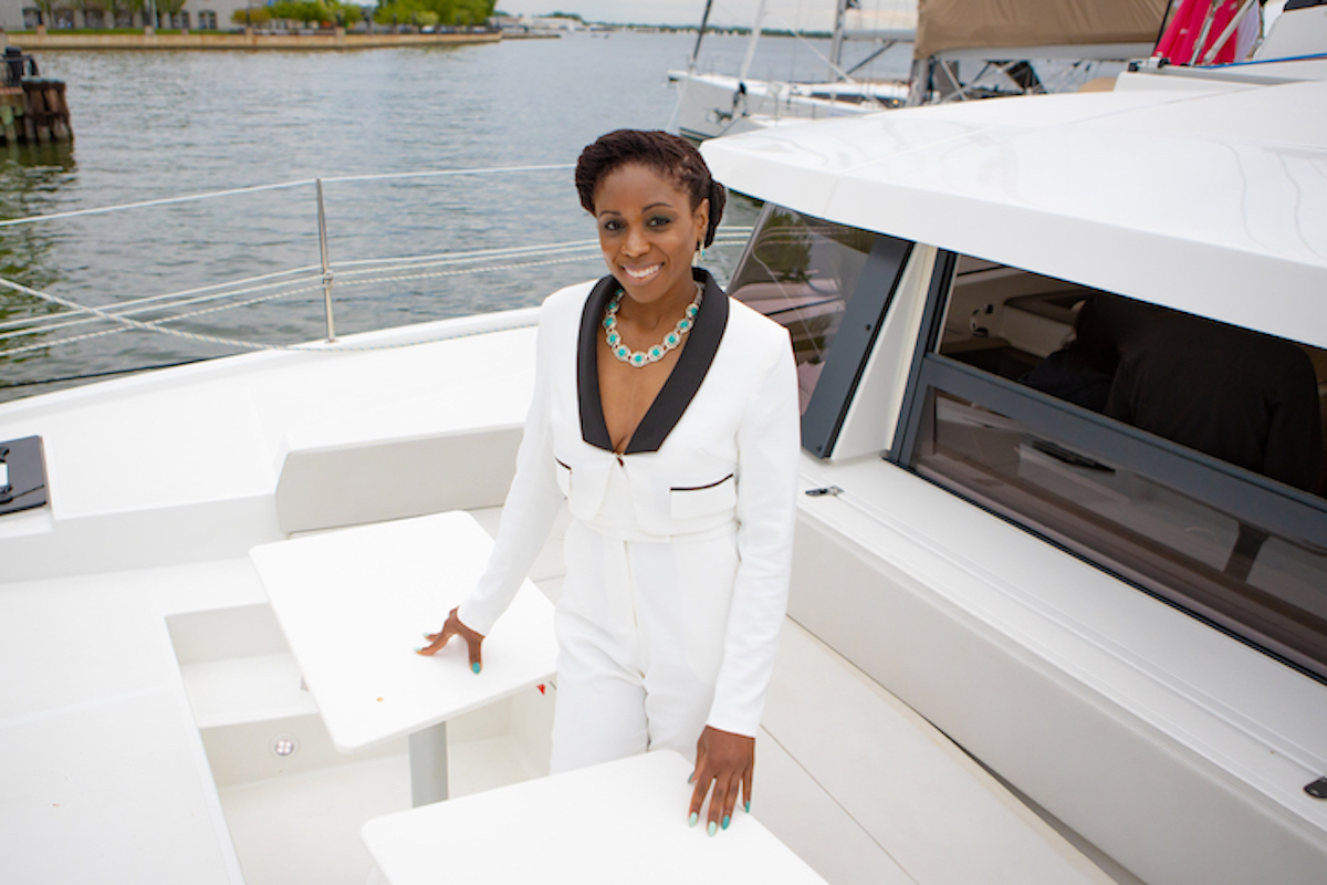 Sheila Ruffin, Soca Caribbean Yacht Charters, African American Business, Minority Owned Business, Black Business, Women Owned Business, Black Women Owned Business, #BuyBlack, KOLUMN Magazine, KOLUMN, KINDR'D Magazine, KINDR'D, Willoughby Avenue, WRIIT, African American Entrepreneur, Black Entrepreneur,