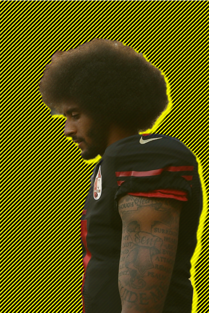 Colin Kaepernick, African American Athlete, Black Athlete, African American Activist, Black Activist, KOLUMN Magazine, KOLUMN, KINDR'D Magazine, KINDR'D, Willoughby Avenue, Wriit,