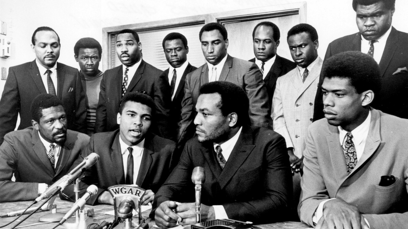 The Cleveland Summit, Bill Russell, Muhammad Ali, Jim Brown, Lew Alcindor, Carl Stokes, Walter Beach, Bobby Mitchell, Sid Williams, Curtis McClinton, Willie Davis, Jim Shorter, John Wooten, African American Athlete, Black Athlete, African American Olympian, Black Olympian, KOLUMN Magazine, KOLUMN, KINDR'D Magazine, KINDR'D, Willoughby Avenue, Wriit,