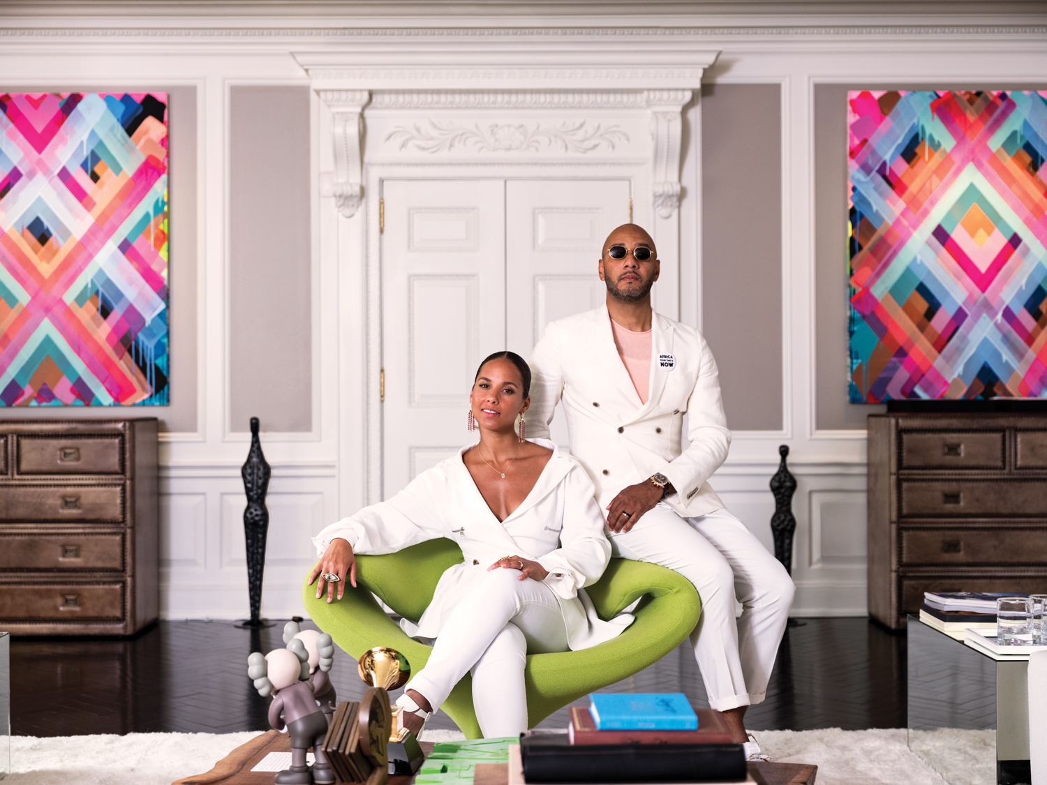 Swizz Beatz, Alicia Keys, African American Art, Black Art, KOLUMN Magazine, KOLUMN, KINDR'D Magazine, KINDR'D, Willoughby Avenue, Wriit,
