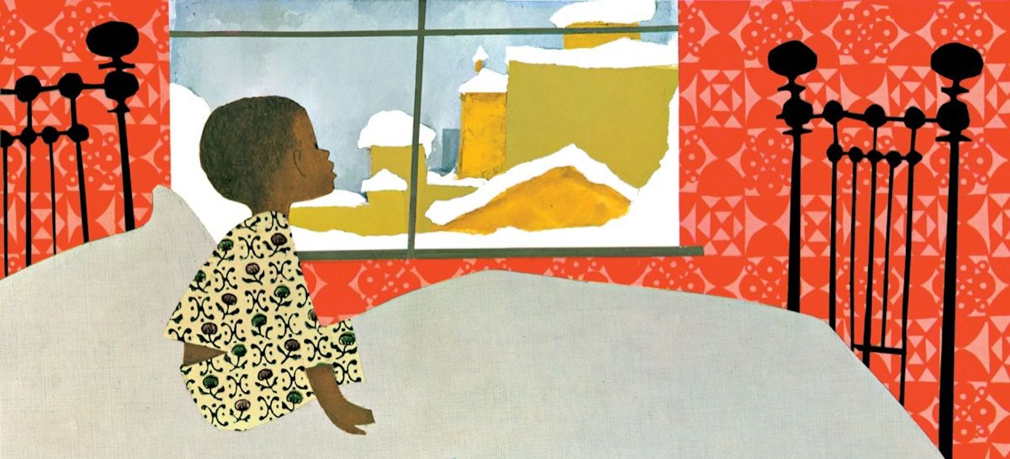 Ezra Jack Keats, A Snowy Day, KOLUMN Magazine, KOLUMN, KINDR'D Magazine, KINDR'D, Willoughby Avenue, Wriit,