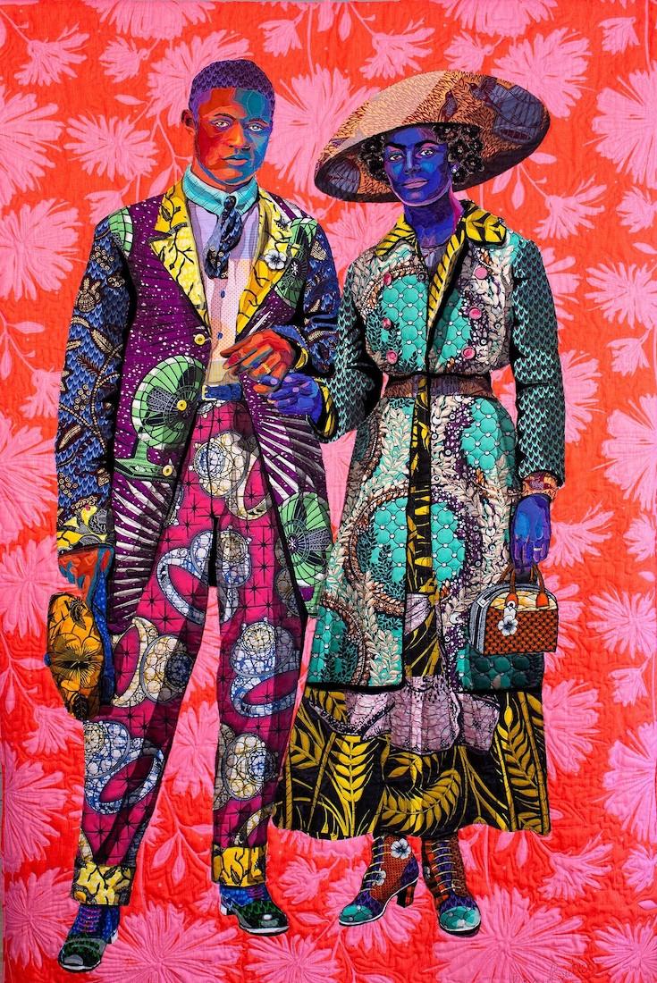 Bisa Butler, African American Artist, Black Artist, African American Art, Black Art, KOLUMN Magazine, KOLUMN, KINDR'D Magazine, KINDR'D, Willoughby Avenue, Wriit,