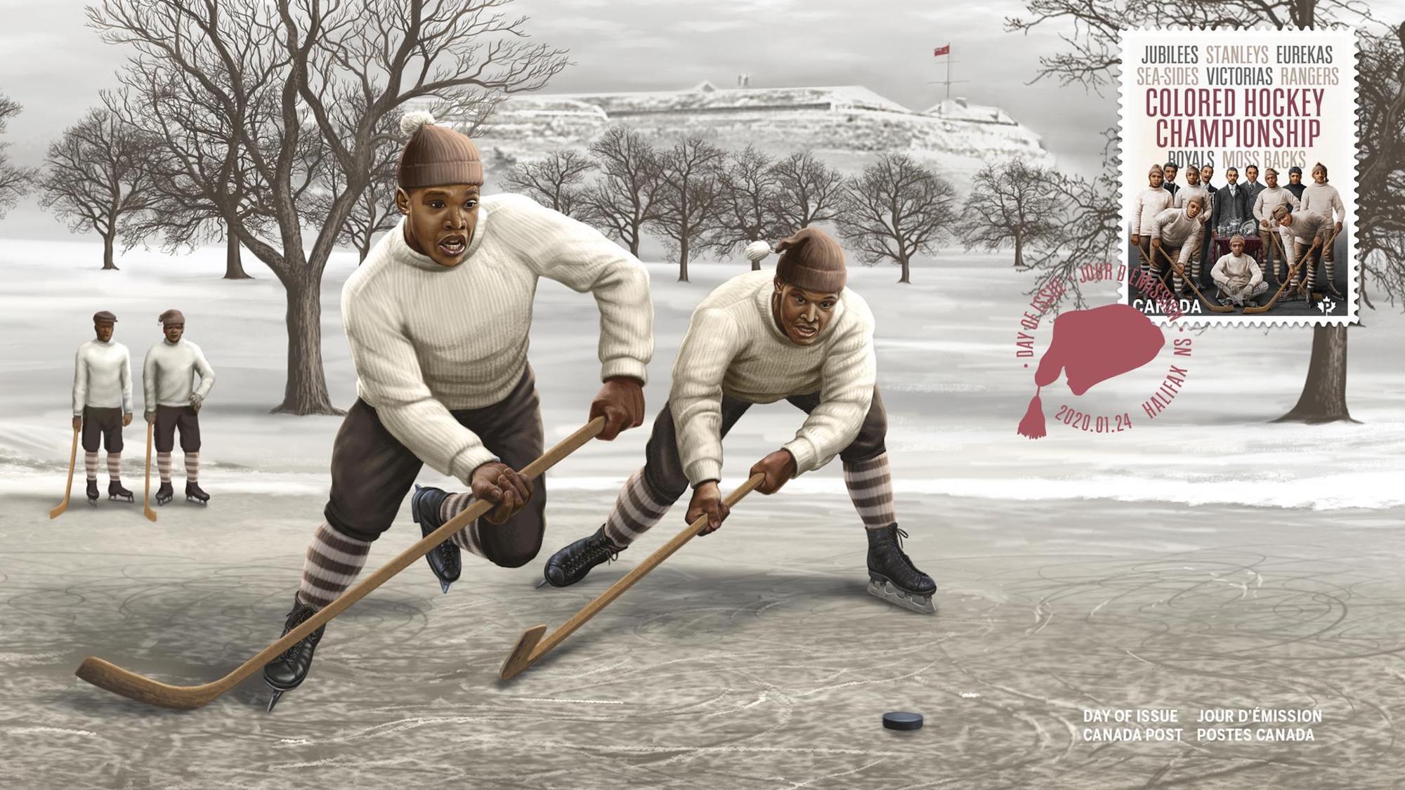 William Douglas, The Color of Hockey, Colored Hockey League, Jubilees, Stanleys, Eurekas, Sea-Sides, Rangers, Royals, Moss Backs, Racism, KOLUMN, KINDR'D Magazine, KINDR'D, Willoughby Avenue, Wriit,
