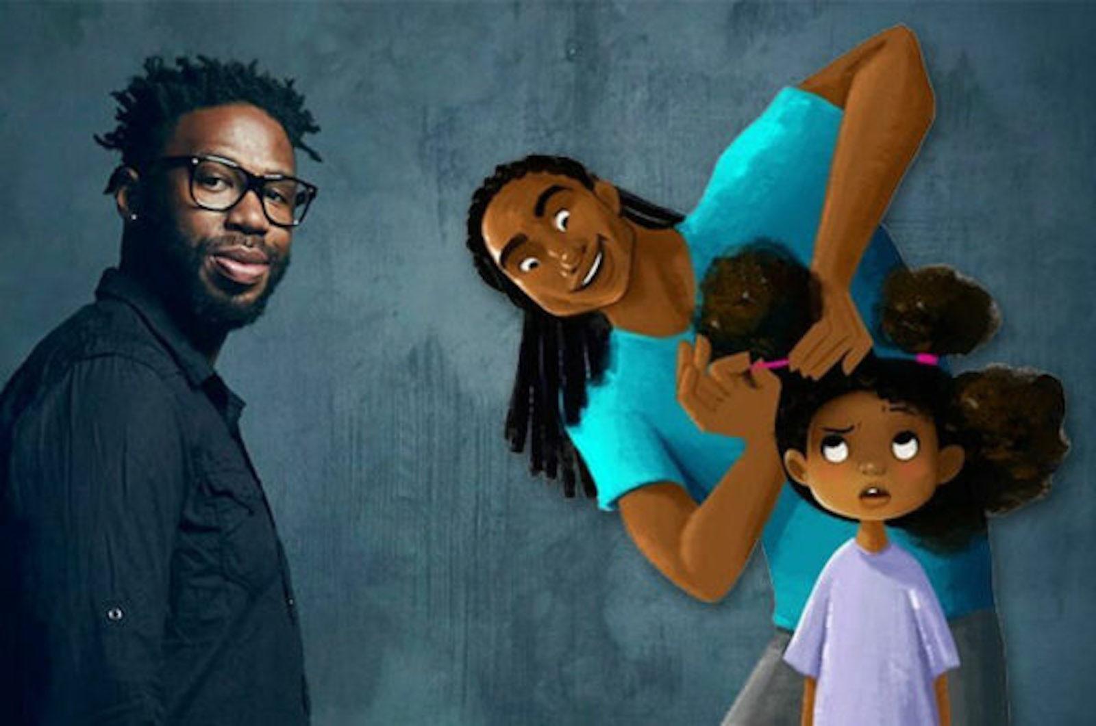 Matthew Cherry, Hair Love, African American Cinema, Black Cinema, African American Film, Black Film, KOLUMN Magazine, KOLUMN, KINDR'D Magazine, KINDR'D, Willoughby Avenue, Wriit,