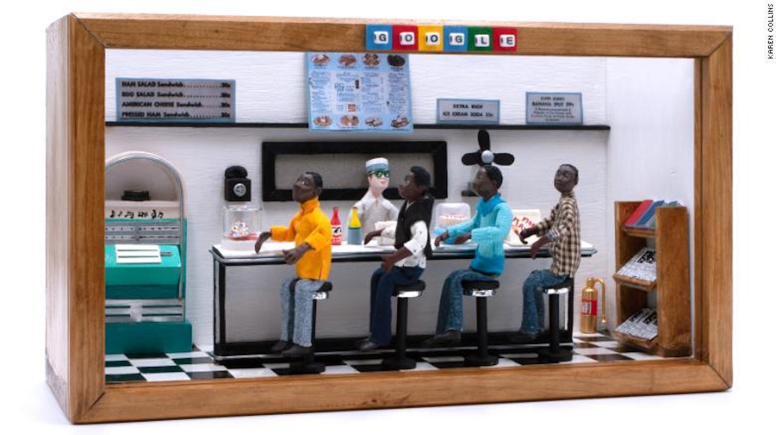 African American Miniature Museum, Karen Collins, African American History, Black History, U.S. History, American History, Racism, African American Art, Black Art, KOLUMN Magazine, KOLUMN, KINDR'D Magazine, Willoughby Avenue, Wriit,