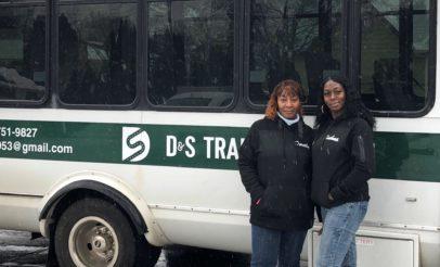 Dorothy and Sushma Jones, D&S Transportation Services, KOLUMN Magazine, KOLUMN, KINDR'D Magazine, KINDR'D, Willoughby Avenue, Wriit,