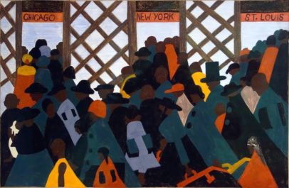 "Jacob Lawrence, ""Migration Series"", African American Artist, Black Artist, KOLUMN Magazine, KOLUMN, KINDR'D Magazine, Willoughby Avenue, Wriit,"