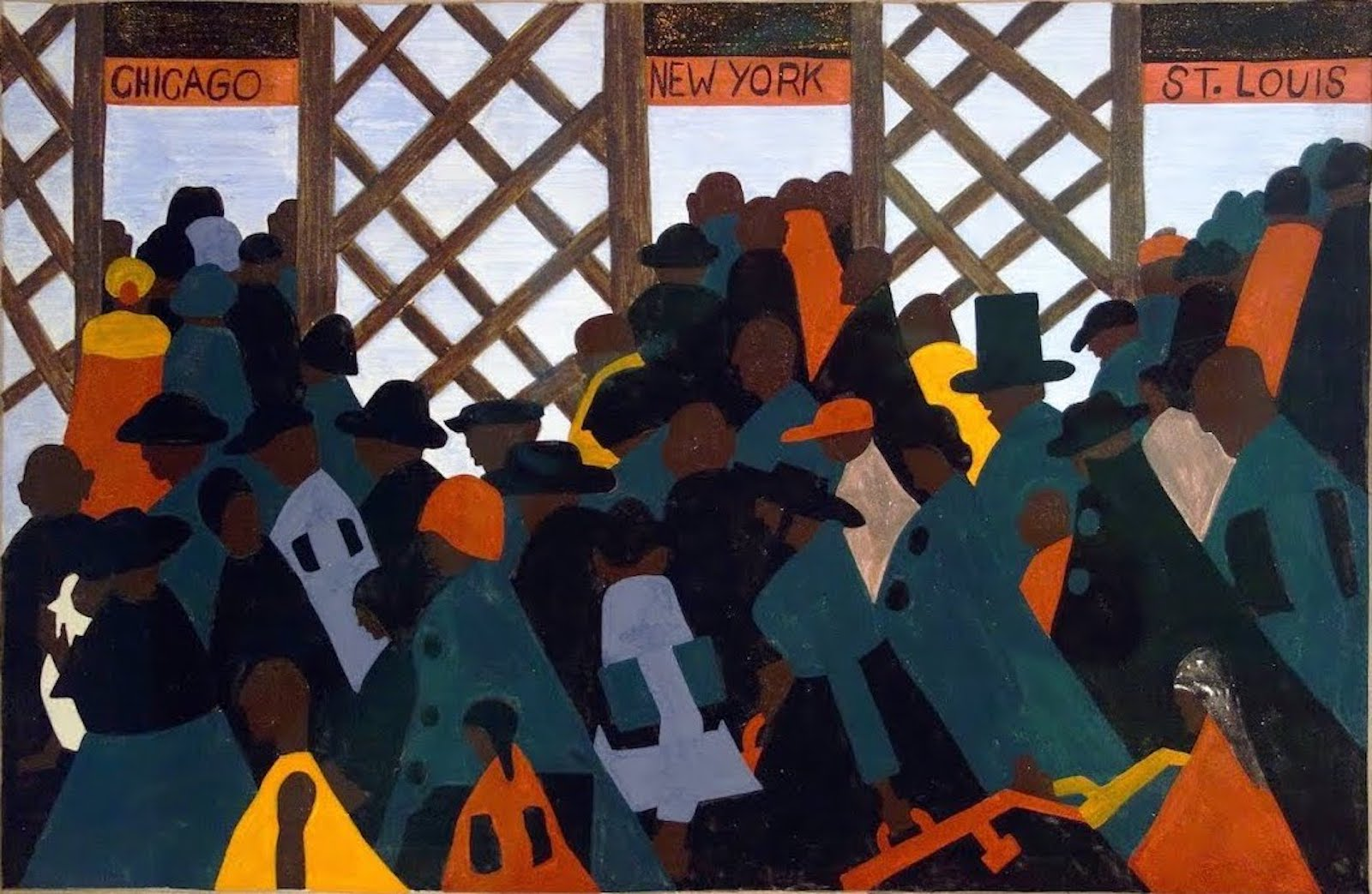 "Jacob Lawrence, ""Migration Series"", African American Artist, Black Artist, KOLUMN Magazine, KOLUMN, KINDR'D Magazine, Willoughby Avenue, Wriit,"