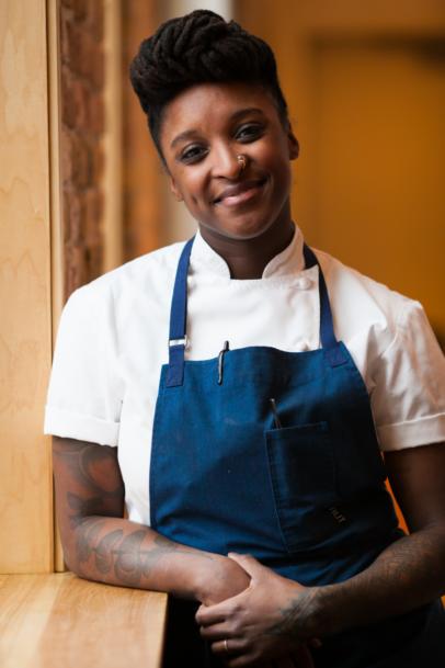 Mariya Russell, African American Cuisine, African American Chef, KOLUMN Magazine, KOLUMN, KINDR'D Magazine, KINDR'D, Willoughby Avenue, Wriit,