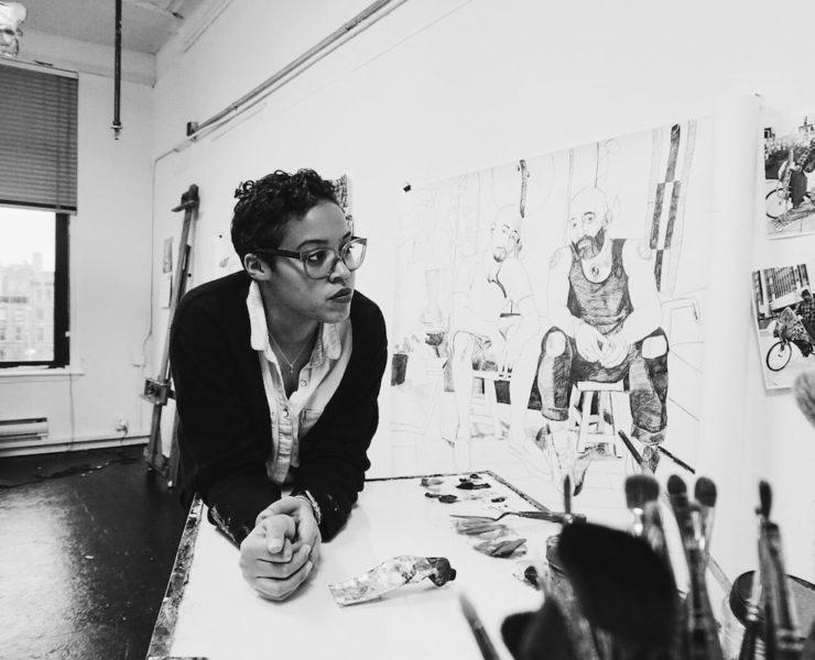 Jordan Casteel, African American Art, African American Artist, Black Art, Black Artist, KOLUMN Magazine, KOLUMN, KINDR'D Magazine, KINDR'D, Willoughby Avenue, Wriit,