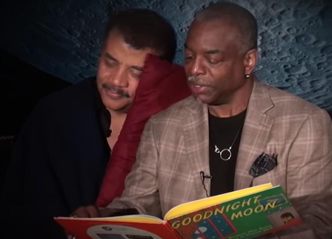 Neil deGrasse Tyson, LeVar Burton, Goodnight Moon, KOLUMN Magazine, KOLUMN, KINDR'D Magazine, KINDR'D, Willoughby Avenue, Wriit,