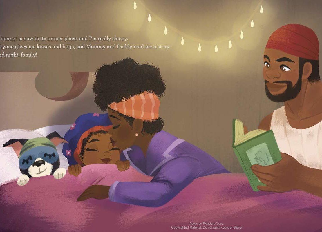 Nneka Myers, Bedtime Bonnet, African American Author, Black Author, KOLUMN Magazine, KOLUMN, KINDR'D Magazine, KINDR'D, Willoughby Avenue, Wriit,