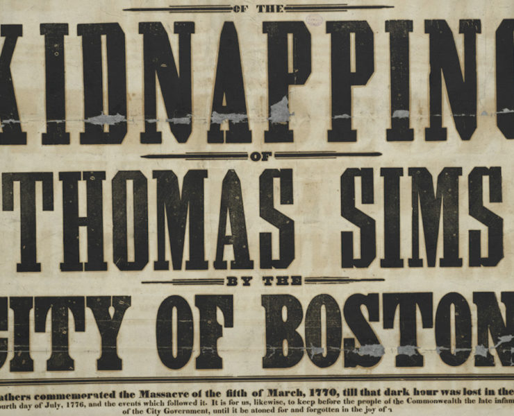 Thomas Sims, African American History, Black History, Slavery, U.S. Slavery, Captured Slave, Runaway Slave, KOLUMN Magazine, KOLUMN, KINDR'D Magazine, KINDR'D, Willoughby Avenue, Wriit,