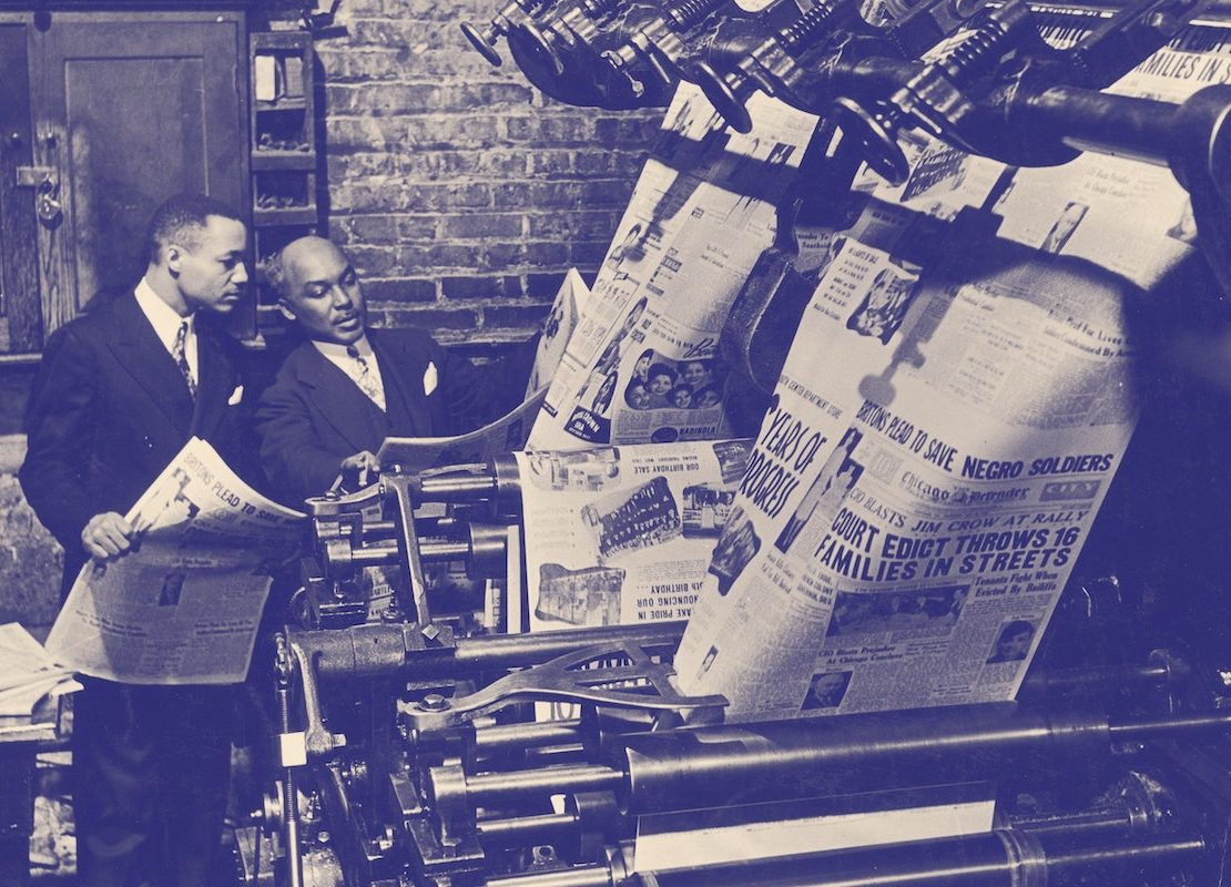 The Chicago Defender, African American News, African American Newspapers, Black Newspapers, KOLUMN Magazine, KOLUMN, KINDR'D Magazine, KINDR'D, Willoughby Avenue, Wriit,
