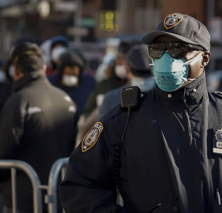 New York Police Department, NYPD, COVID, COVID-19, Coronavirus, African American Health, Black Health, KOLUMN Magazine, KOLUMN, KINDR'D Magazine, KINDR'D, Willoughby Avenue, Wriit,