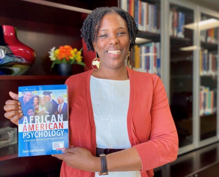 Stacie DeFreitas, African American Psychology: A Positive Psychology Perspective, African American Professor, Black Professor, African American Author, Black Author, KOLUMN Magazine, KOLUMN, KINDR'D Magazine, KINDR'D, Willouhgby Avenue, Wriit,