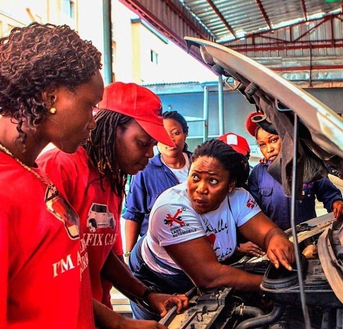 Sandra Aguebor, Nigerian Entrepreneur, The Lady Mechanic Initiative, KOLUMN Magazine, KOLUMN, KINDR'D Magazine, KINDR'D, Willoughby Avenue, Wriit,