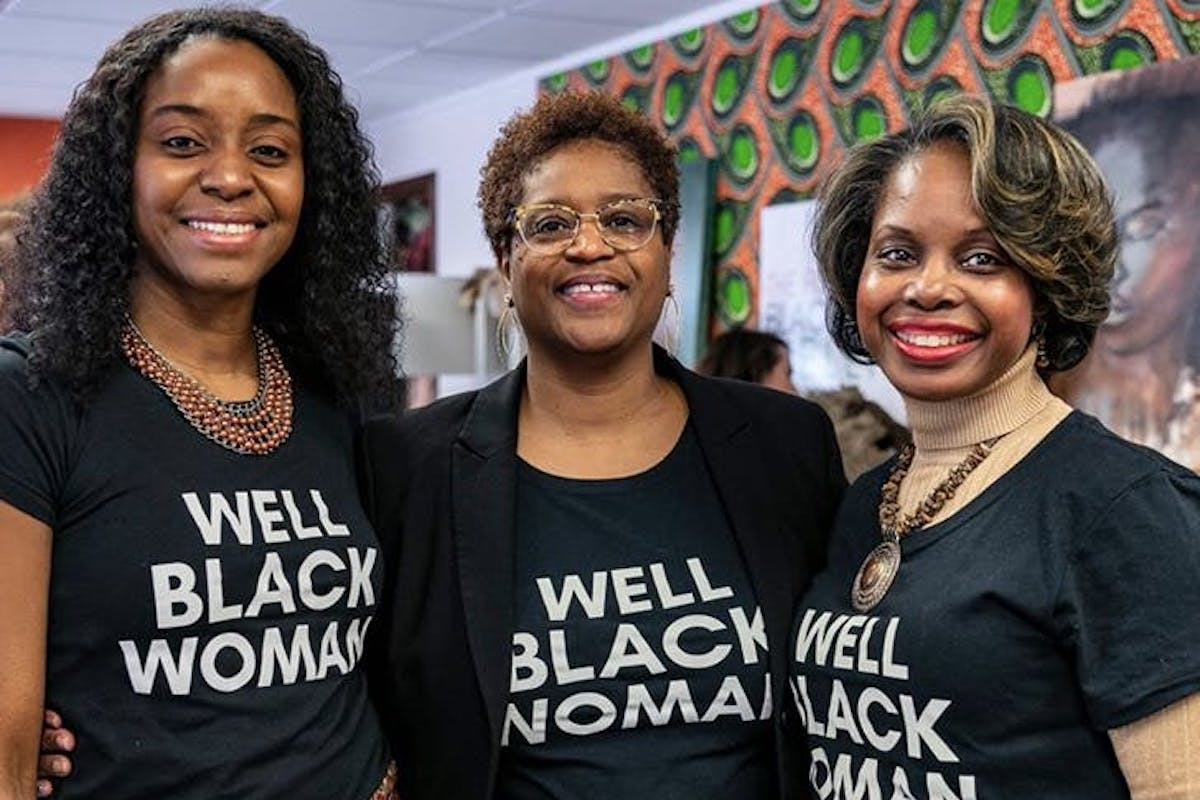 Black Mamas Matter Alliance, The Foundation for Black Women's Wellness, The Loveland Foundation, Black Girls Code, Buy From A Black Woman, GirlTrek, KOLUMN Magazine, KOLUMN, KINDR'D Magazine, KINDR'D, Willoughby Avenue, Wriit,