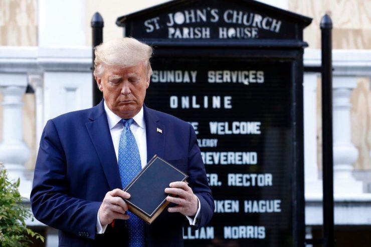 Trump, St. John's Episcopal Church, Racism, Racist, Donald Trump, Trump Racism, KOLUMN Magazine, KOLUMN, KINDR'D Magazine, KINDR'D, Willoughby Avenue, Wriit,