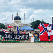 Mississippi State Flag, Confederate Flag, Battle Flag of The Confederate, American Racism, U.S Racism, KOLUMN Magazine, KOLUMN, KINDR'D Magazine, KINDR'D, Willoughby Avenue, Wriit,